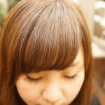 前髪をナチュラルに流したい方のポイントパーマ[人気記事]