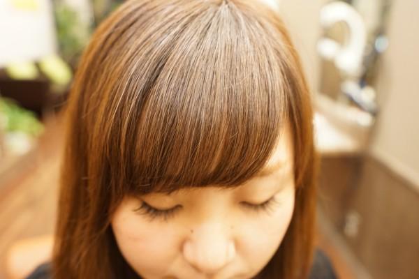 前髪パーマ RePURE