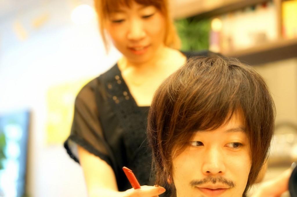 髪を切ってみた4 2016/06