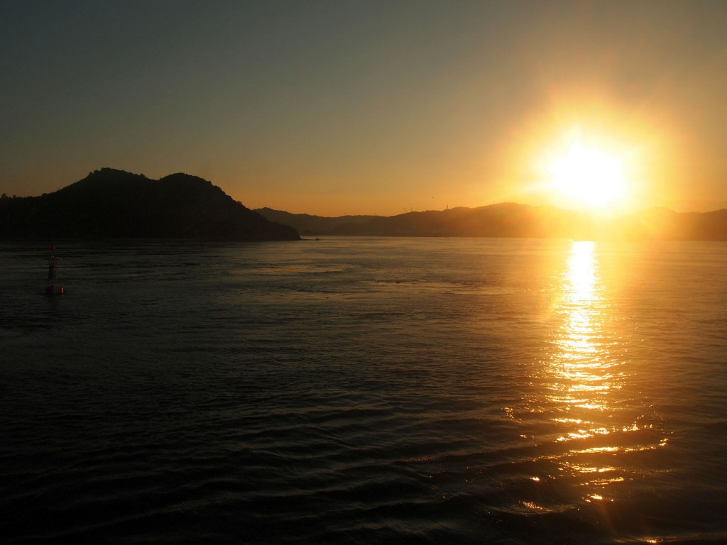 小豆島からの風景