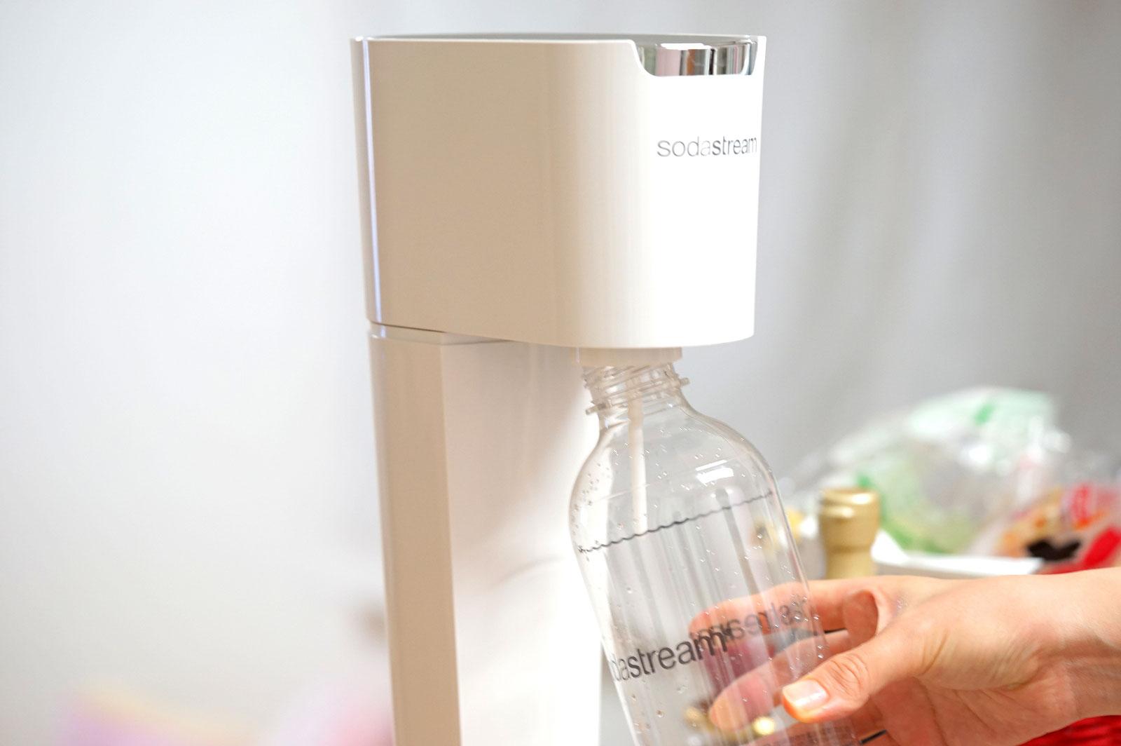 sodaStreamソーダストリームで炭酸水を作ってみた