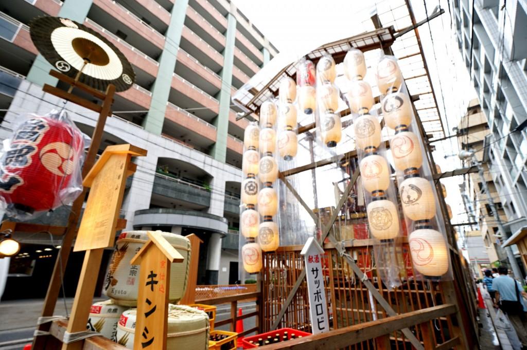祇園祭 かまきり鉾