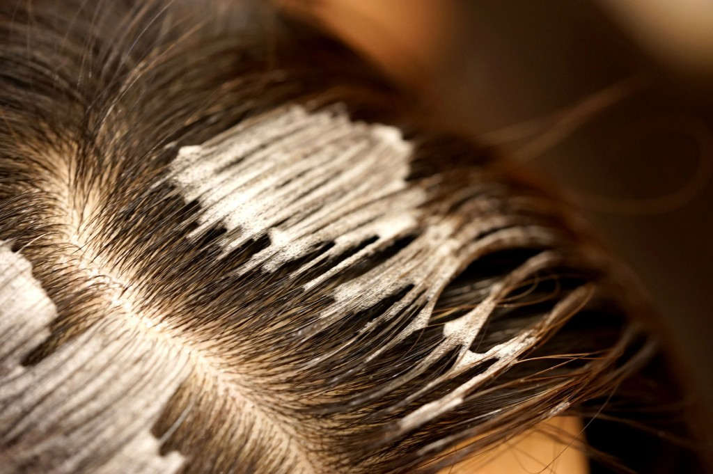 白髪を染めやすく 4