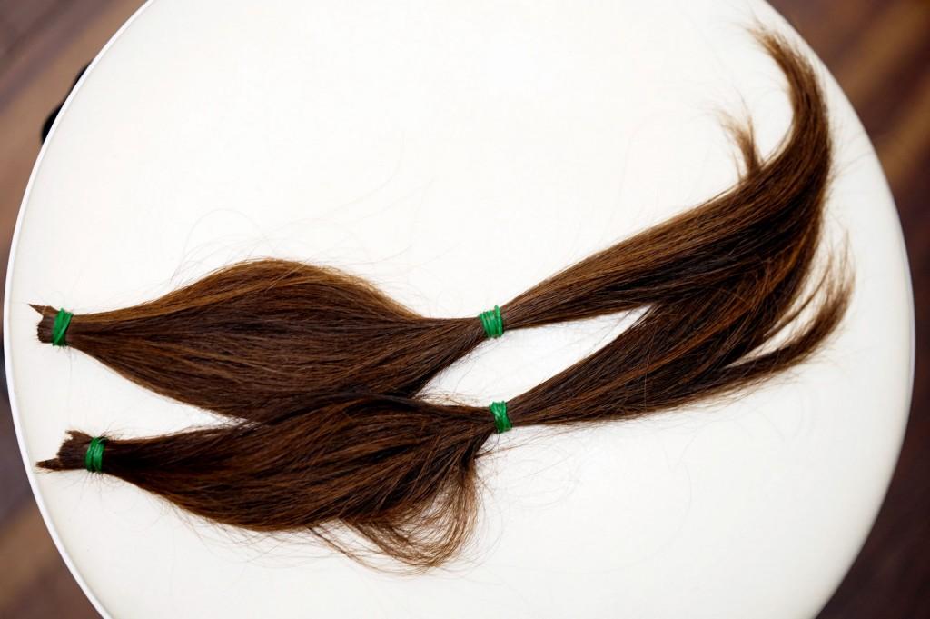 髪の寄付3
