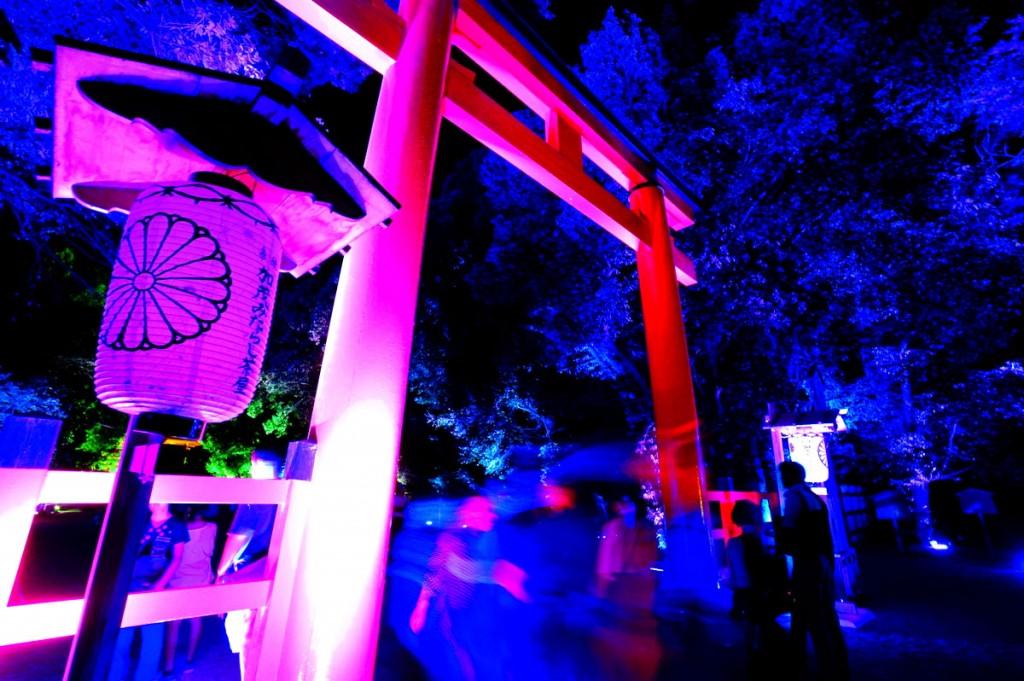糺の森の光の祭4