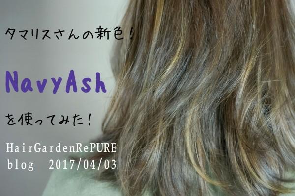 NavyAsh新色