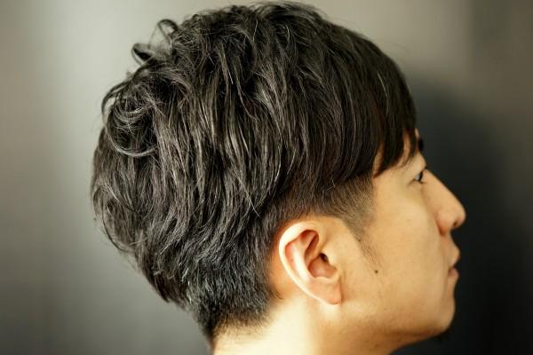 カジュアルヘアスタイル