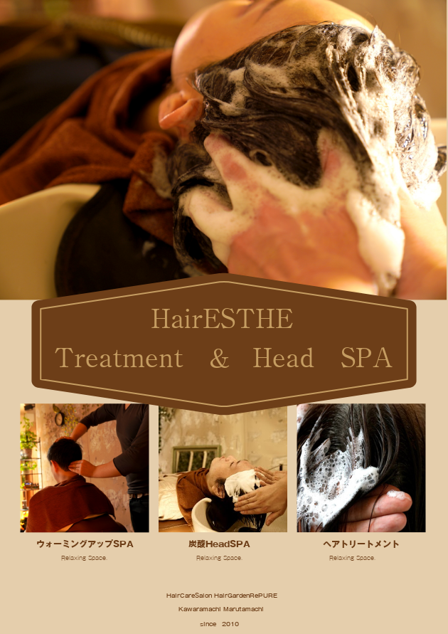 HairEsthe=Treatment&SPA&SclpeCleansing